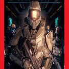 halo 4 master chief by christopher tully