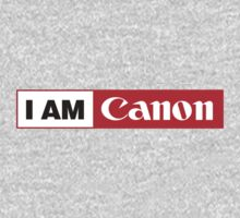 I AM CANON - Camera Shirt Kids Clothes