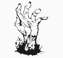 ZOMBIE HAND by thatstickerguy