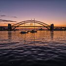 Sydney sunrise by Adriano Carrideo