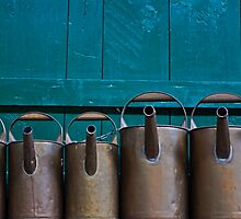 watering cans by Joana Kruse