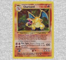 Charizard Pokemon Card Kids Clothes
