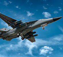 RAAF F-111 - Fully loaded by Michael Howard