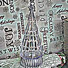 Crystal Christmas Tree by Jane Neill-Hancock