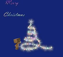 Danbo`s Christmas Tree by Anne Seltmann