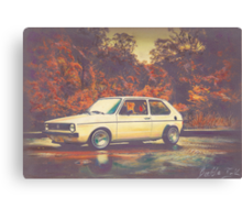 Relections Canvas Print