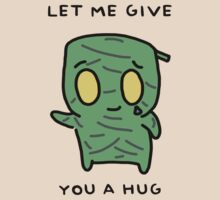 "Amumu - ""LET ME GIVE YOU A  HUG"" - BLACK TEXT/LIGHT SHIRTS by baconpiece"