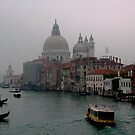 Grand canal in the mist. by naranzaria