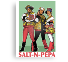 THE SHOWSTOPPERS: SALT-N-PEPA Canvas Print