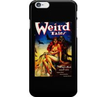 Weird Tales Magazine iPhone Case/Skin