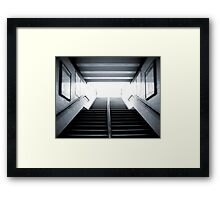 Terminal 7 Framed Print