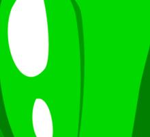 Green Pepper Sticker