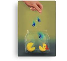 Pac Man Pets Canvas Print