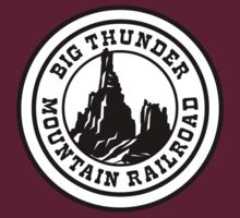 Hero Big Thunder Mountain With White Logo by AngrySaint