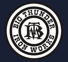 Hero Big Thunder Iron With White Logo by AngrySaint
