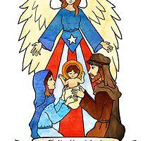 Navidad 2012 version 1 by Natalia Lopez