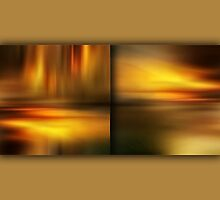 Golden beach. II by Bluesrose