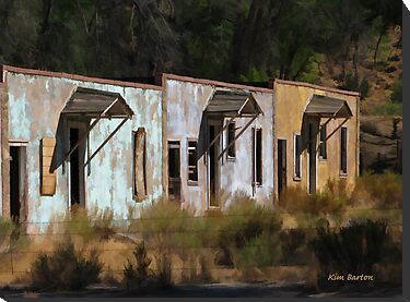 Old Dinosaur Motel by Kim Barton
