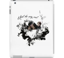 """James and Lily Potter """"Until The Very End"""" iPad Case/Skin"""