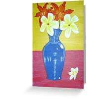 Flowers for Amanda Greeting Card