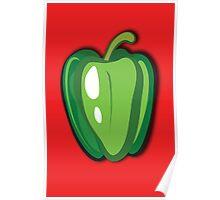 Green Pepper Poster