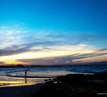 Running Into The Sea by -aimslo-