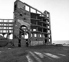 Gaza Hotel by Ahmad Sabra