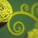 Spiral Ball & Curlicue by Tamarra