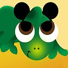Pascal with Mickey Ears by live-the-disney
