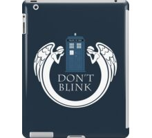 Doctor Who angels TARDIS iPad Case/Skin