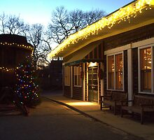 Silent night at the Black Dog by Choux