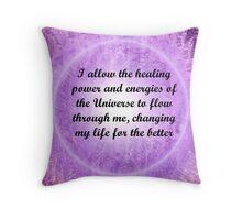 Affirmations 1 Throw Pillow