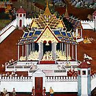 Grand Palace Bangkok Thailand 4 by Terry Jorgensen
