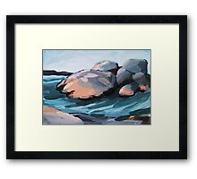 Saltholmen - beach Framed Print