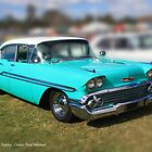 58 Chevy Biscayne by Keith Hawley