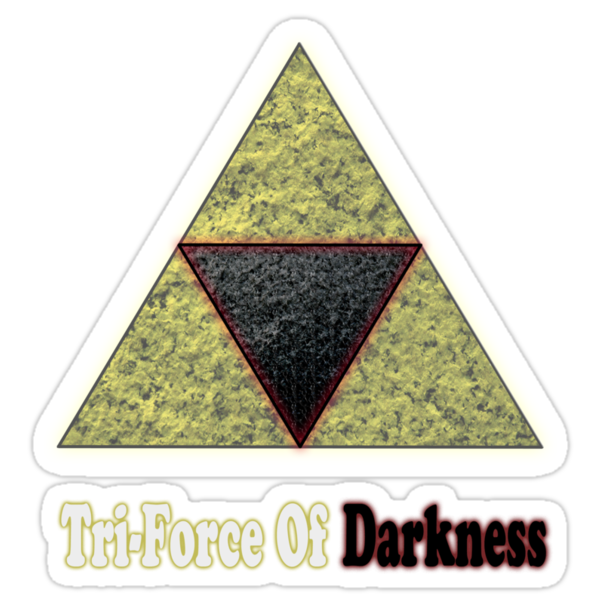 Tri-Force Of Darkness by KostaINurFACE