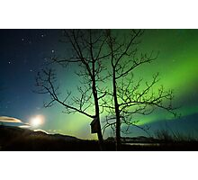 Yukon Northern Lights 2 Photographic Print