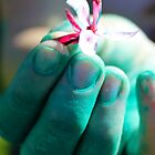 Painted Hand by BYPhotography