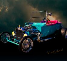 23 T Hot Rod In The Sky by ChasSinklier