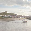 Whitby Harbour by Imager
