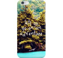 Lets Go  iPhone Case/Skin