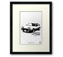 AE-86 Framed Print
