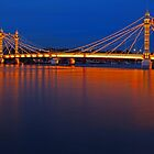 The Blue Hour At Albert Bridge. by Pete5D