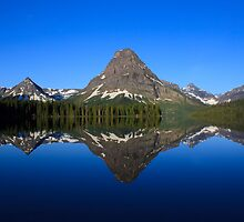 Reflections in Glacier National Park by DArthurBrown