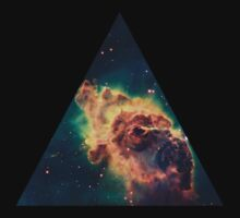 Rock Galaxy Triangle  by Freak Clothing