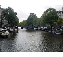 Canal of Serenity Photographic Print