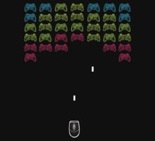 Console invaders by Renars Slavinskis