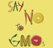 Say NO to GMOs! Kids Clothes