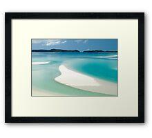 Marooned on Whitsunday Island Framed Print
