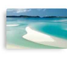 Marooned on Whitsunday Island Canvas Print